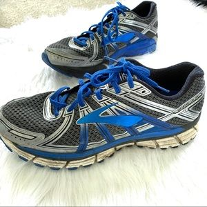 Brooks Adrenaline GTS 17 Blue Running Shoes